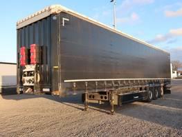 tilt trailer Krone SDP 27 Liftachse Schwedenrungen P-Kasten 2014