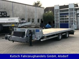 lowloader trailer Müller-Mitteltal ETÜ-TA-R 21 Tieflader Pateau 7m