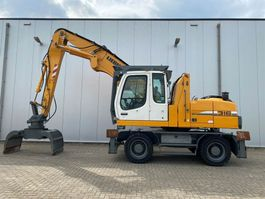 Umschlagbagger Liebherr A316 Litronic MH 2011