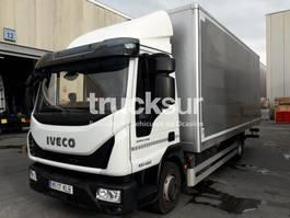 closed box truck Iveco Eurocargo Ml100 E22 2018