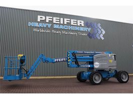 articulated boom lift wheeled Genie Z51/30 Valid inspection, *Guarantee! Diesel, 4x4 D 2018