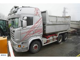 tipper truck > 7.5 t Scania R730 6x4 tipper truck w/ high frames 2016