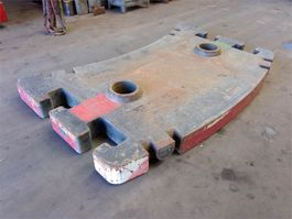 other equipment part Grove GMK 5130-1/2 counterweight 5.0 ton