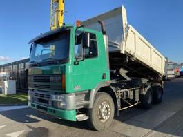 tipper truck > 7.5 t DAF CF 85.380 6X4 MANUAL - FULL STEEL - EURO 2 - HUB REDUCTION 2000