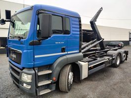 container truck MAN TGS 26 Euro5 Containersysteem 2013