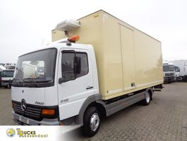 refrigerated truck Mercedes-Benz Atego 815 + Manual + Thermo King V-200 Generator + Blad-blad 1998