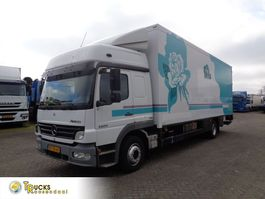 refrigerated truck Mercedes-Benz Atego 1224 + Euro 5 + TRS Generator + Lift + Side-door + Step + Box heater 2008