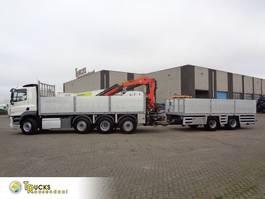platform truck DAF CF 460 COMBI + PTO + Euro 6 + Palfinger PK 18500 + GS AN-2000 + 8X2 2016