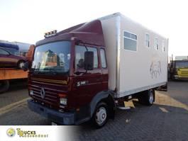 horse truck Renault S140-08A + Manual + Horsetransport 1991