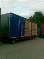 flatbed full trailer Jumbo TV280 L 1998