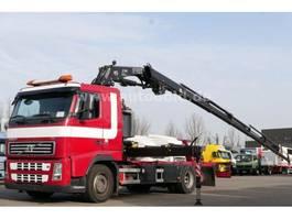 swap body truck Volvo FH 440 Kran Fassi 195A.26 Funk Achsschaden 2008