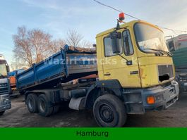 other trucks MAN 26 293/322 Tipper 6x4.Full Steel Spring.In top 1994