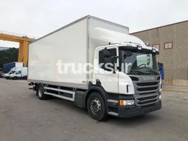 closed box truck Scania P230 2013