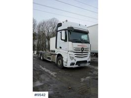container truck Mercedes-Benz Actros 2553 Container truck 2019