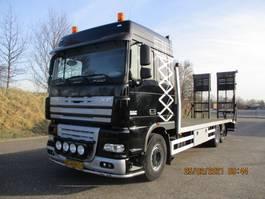 car transporter truck DAF 105.410 EURO 5 6X2 MACHINETRANSPORTER 2006