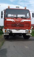 old timer truck Mercedes-Benz 1217 4x4 Hook Lift tipper 1978