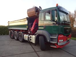 container truck MAN TGS 35-400 8X4-4BL 2012