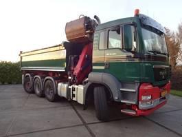 tipper truck > 7.5 t MAN TGS 35-400 8X4-4BL 2012