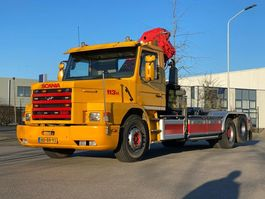 container truck Scania 3 serie torpedo T 113H 1995