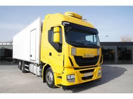 refrigerated truck Iveco Stralis 460 HI-WAY , E6 , 6X2 , 20 EPAL , Side door , retarder , 2015