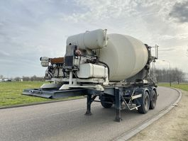 Betonmischer Auflieger Groenewegen 7m3 Concrete Mixer / Deutz Egine / Steel Suspension 1993