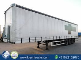 sliding curtain semi trailer Groenewegen DRO-14-27 2003