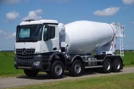 concrete mixer truck Mercedes-Benz Arocs 4142-B 8x4 - Euro 6 - 12m3 Mulder Concrete Mixer - Wierda Hybrid PTO - NEW