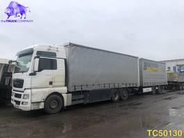 sliding curtain truck MAN TGX 26.440 + Krone Euro 5 2013