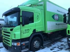 closed box truck Scania P 270 DB4x2MNB 2008