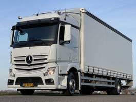 sliding curtain truck Mercedes-Benz ACTROS 1842L EURO6. 07-2016.  335332km. Als in NIEUWSTAAT!! 2016