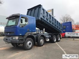 tipper truck > 7.5 t Renault Kerax 420 Full steel - Manual - Sleeper cab - Big axle 2003