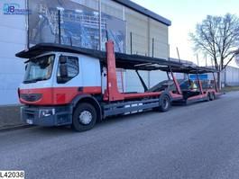 car transporter trailer Lohr Middenas EURO 5, Lohr, Multilohr, Retarder, Combi 2002