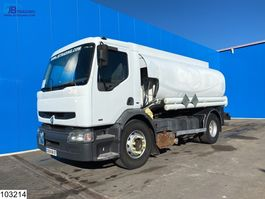 tank truck Renault Premium 300 Fuel, 13390 Liter, Manual, Steel suspension 2002