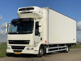 refrigerated truck DAF LF45.210 EURO5.  Aut.  Koel/vries Bakwagen met Laadklep. 740x246x240. In Topstaat 2013