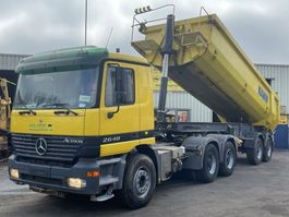 tipper truck > 7.5 t Mercedes-Benz 2648 Actros + Dump Trailer V8 EPS Good Condition 2003