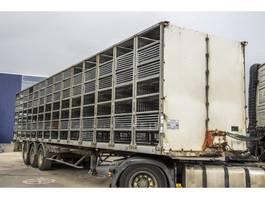livestock semi trailer Fruehauf TF 34 1997