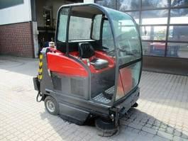 road sweeper Gansow 150 D Scheurer Saugmaschine/Kehrmaschine 2001