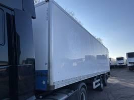 closed box semi trailer Van Hool 1B1001 City Laadklep  APK 1999