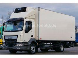 refrigerated truck DAF LF 210 Kühlkoffer LBW Fleischhaken Scheckheft E6 2014