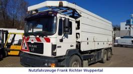 vacuum truck MAN 26.403 Saug/ Spül/Kanal HU neu Pumpe überholt 1998