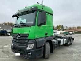 chassis cab truck Mercedes-Benz Actros 2551 6x2 SILO FG Nebenantrieb Lenkachse 2013