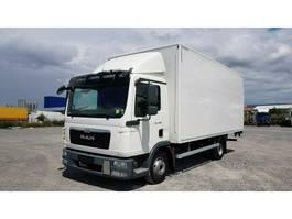 closed box truck MAN TGL 8.180 7.180 Koffer 4x2 BL Klima LBW 2015