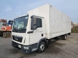 tilt truck MAN TGL 12.220 4x2 BL Pritsche/Plane Klima 3-Sitzer 2018