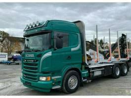 timber truck Scania R480 Euro 5 Kesla m. Menke-Janzen Exte 2014