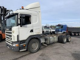 chassis cab truck Scania R114-380 6x2 2000