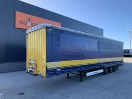 mega-volume semi trailer Krone Mega, SAF-schijfremmen, NL-oplegger, APK: 01/2022 2016