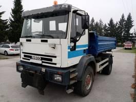 tipper truck > 7.5 t Iveco EUROCARGO 150E23 4X4 meiller tipper 1996