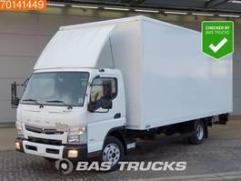 closed box truck Mitsubishi Canter Fuso 7C18 4X2 Manual Ladebordwand Euro 6 2016