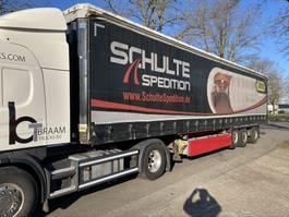 sliding curtain semi trailer Krone Krone laatste as gestuurd fuse.  Kooi aap aansluiting 2011