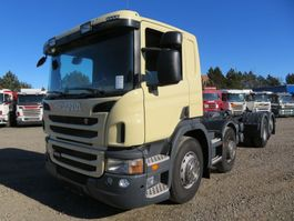 chassis cab truck Scania P400 8x2*6 Euro 5 Chassis 2013